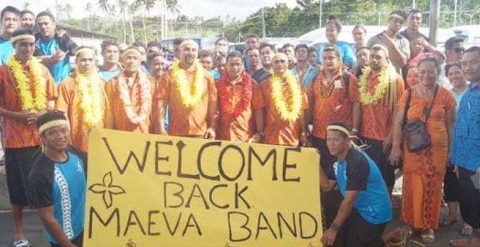Maeva Band NZ Tour